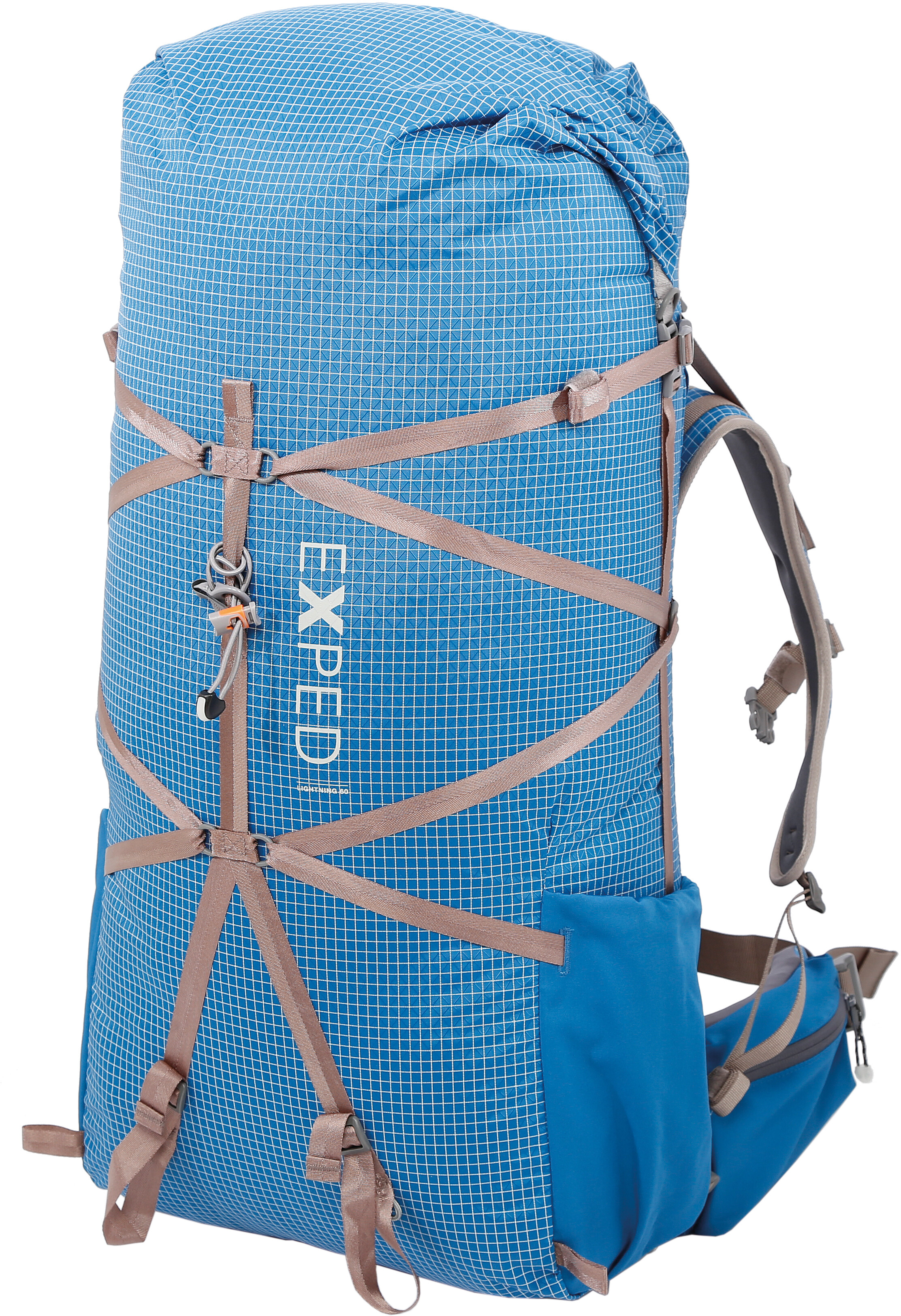 838f13b5732 Exped Lightning 60 Trekking Backpack deep sea blue - addnature.com